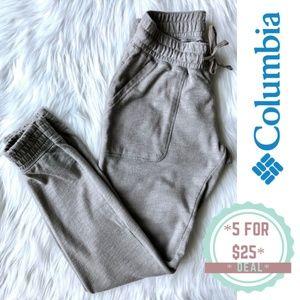 * COLUMBIA gray sport sweatpants jogger size S